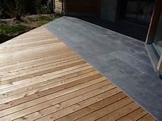Wandgestaltung Wohnzimmer Terrasse En Bois Composite