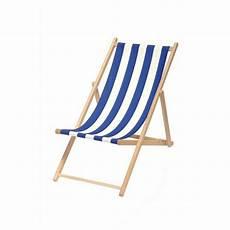 chaise longue pliante bois toile chaise longue bascule