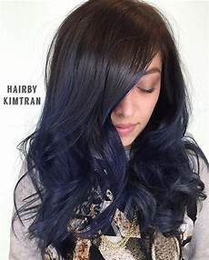 dark midnight blue hair 25 midnight blue hair ideas that will inspire your next moody look midnight blue hair blue