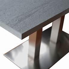 design esstisch mit laminierter steinplatte 160x90cm newman