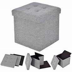 Small Grey Storage Ottoman by Storage Cube At Overstock