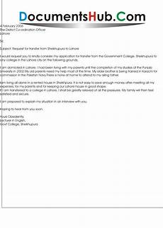 sle of request letter for transfer to other school application letter for school branch
