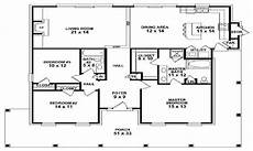 modern single storey house plans best modern farmhouse floor plans that won people choice