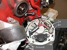 1987 240 Alternator Not Charging Exciter Wire Volvo