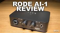 Rode Ai 1 Usb Audio Interface Review Test Explained
