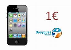 iphone 4 le prix bon plan l iphone 4 224 1 avec bouygues telecom