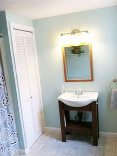 wall color valspar tranquility trim color valspar swiss coffee shower curtain and light