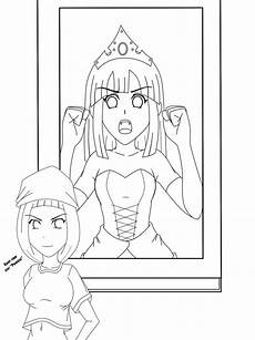 fractured tales coloring pages 14938 outline fractured tale by jayqc80 on deviantart