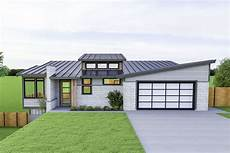 house plans for sloping lots in the rear plan 280059jwd modern ranch home plan for a rear sloping