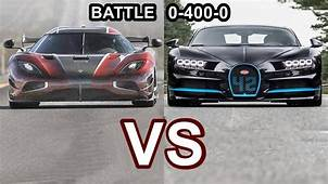 2018 Koenigsegg Agera RS VS Bugatti Chiron  World's
