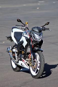 Cb150r Modif Supermoto by Motor Terong Honda Cb150r Modifikasi Streetfire Jakarta