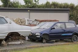 Identify This Rusty Car Found In A Japanese Junkyard