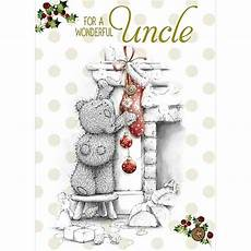 wonderful uncle me to you christmas card x01ss224 me to you bears online store