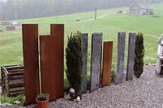 Sichtschutz Aus Stein Elemente - ungeahnte vielfalt an sicht und l 228 rmschutz varianten