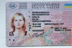 международные права водительские фото