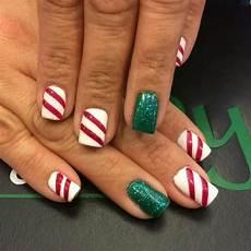 candy cane nail art designs acrylic nail art acrylic nails
