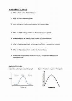 ks3 plants photosynthesis worksheets 13619 ks3 photosynthesis resources by rahmich uk teaching resources tes