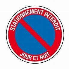 Ci15 Panneau Interdiction De Stationner Jour Et Nuit