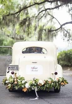 d 233 coration voiture mariage en 50 id 233 es chic pour enjoliver