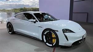 2020 Porsche Taycan Debuts As An All Electric Super Sedan