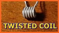 cara membuat coil twisted bor youtube