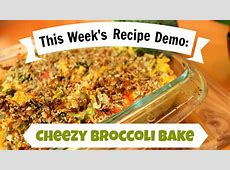 easy cheezy broccoli bake_image