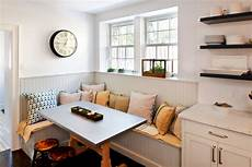 Beadboard Kitchen Banquette by Vintage Bar Stools Kitchen Transitional With Banquette