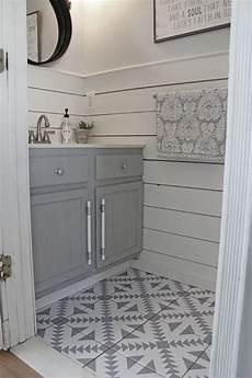 Bathroom Tile Flooring Ideas Floor Stickers In The Bathroom The Honeycomb Home