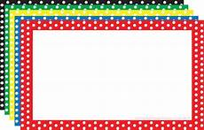 4x6 index card template free preschool borders clipartion