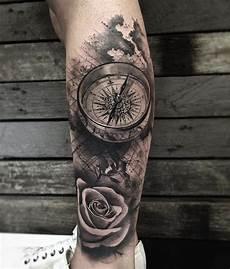 kompass unterarm pin stefan langlotz auf tatttatooo kompass
