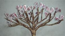 diy gift of money blossoming cherry tree geldgeschenke