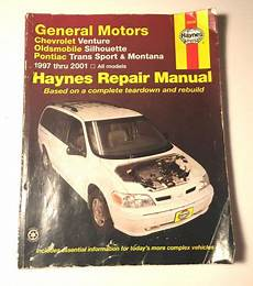 free online auto service manuals 1999 oldsmobile silhouette engine control purchase haynes repair manual gm venture silhouette trans sport montana 1997 2000 motorcycle