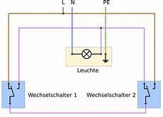 probleme wechselschaltung licht 2 schalter und 1 l