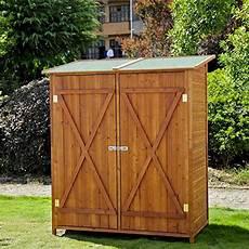 meuble armoire abri de jardin rangement outils exterieur