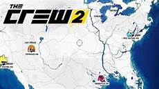 map the crew 2 nuevo dise 209 o mapa the crew 2
