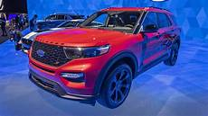 2020 ford st 2020 ford explorer st explorer hybrid revealed at detroit