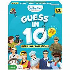 guess my age for kids skillmatics guess in 10 inspiring professions card game of smart questions for kids families