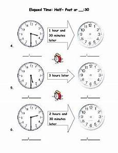 time measurement worksheets for grade 2 1615 measurement time to the half hour 30 half past by team talmadge