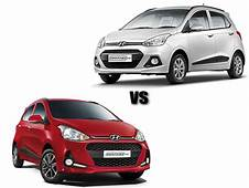 Specification Comparison Hyundai Grand I10 Vs