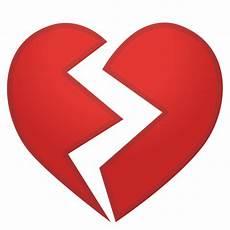 Gebrochenes Herz - gebrochenes herz emoji