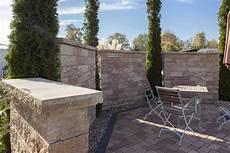 Mauern Hangbefestigungen Sichtschutz Rinn Betonsteine