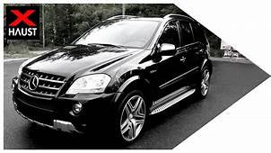 Mercedes Benz ML 63 AMG Exhaust Sound 0 100 Km/h & Fly By