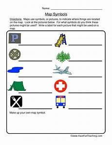 map symbols worksheet grade 4 11622 map symbols worksheet