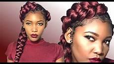 how to diy mermaid butterfly braid natural hair london tayy youtube