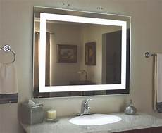 badezimmer beleuchtung spiegel lighted bathroom vanity make up mirror led lighted wall