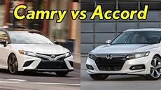 honda accord 2018 vs toyota camry 2018 2018 honda accord vs 2018 toyota camry visual comparison