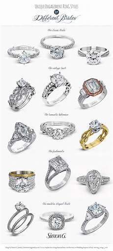 style of wedding rings simon g engagement ring styles for every bride wedding inspirasi