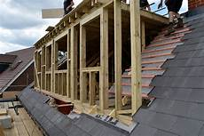 Pitched Roof Dormer Construction by How To Get A Loft Conversion Yell Home Garden