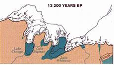formation of the great lakes about me