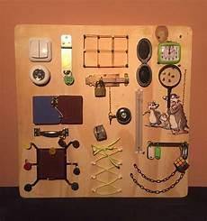 sensory board busy board montessori educational
